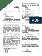 Prueba Diagnostica Primer Periodo 2018