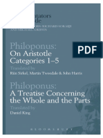 Philoponus-On Aristotle Categories 1–5, A Treatise Concerning the Whole and the Parts