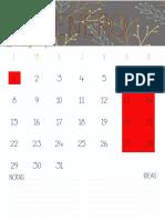 Calendar i Omen Sual 2018