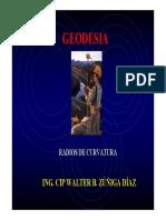 Radios de Curvatura (Geodesia)