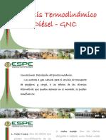Analisis Termodinamico Diesel Gnc