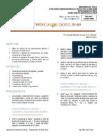 5 Laboratorio Dispositivos Activos - Características Del Diodo Zener