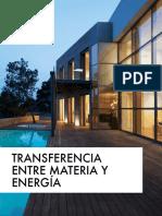 Transferencia de materia y energía