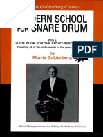 Morris Goldenberg - Modern School for Snare Drum (New Editio