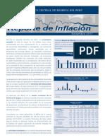 Reporte de Inflacion Setiembre 2017 Sintesis