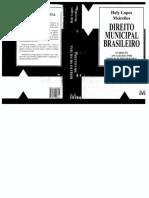 Direito Municipal Brasileiro - Hely Lopes Meirelles.pdf