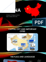 The Capital City and Important Cities