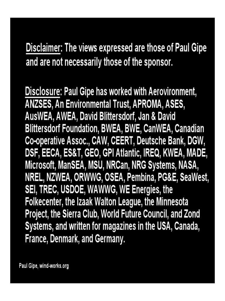50b15507cbd7 Handbook - Paul Gipe PGE Presentation