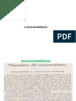 Metamorficas II
