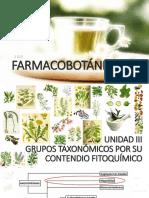 4. Grupos Taxonómicos -Magnoliides. Unidad III. Farmacobotánica II