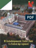 Zachodniopomorski Festiwal Nauki 2003