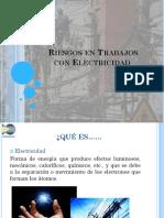 Riesgos en Trabajos Con Electricidad