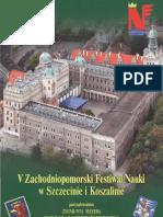 Zachodmiopomorski Festiwal Nauki 2005