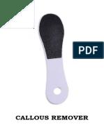 Callous Remover