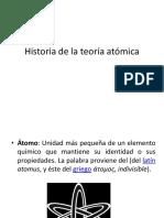 Historia de la Teoría Atómica.ppt