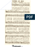 Cantor Cristao 438 Ouvindo de Jesus