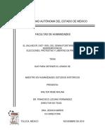 MOLINA, El Salvador, 1927-1930, Del Semiautoritarismo a La Semidemocracia
