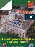 Zachodniopomorski Festiwal Nauki 2009