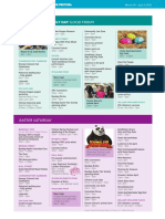 Bendigo Easter Festival 2018 Program