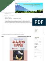 Minna No Nihongo - El Japonés de Todos