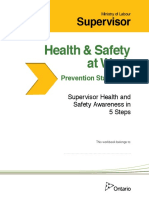 Supervisor H&S Awareness