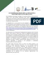 2018-02-18 Comité interacadémico - Ante las elecciones 22 abril