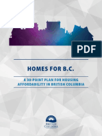 NDP 30 Point Housing Plan 2018