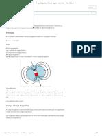 Força Magnética_ Fórmula, Regras e Exercícios - Toda Matéria