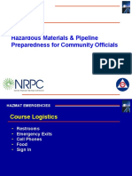 Hazmat Pipeline Training