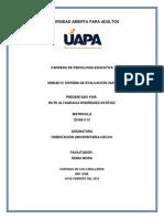 Sistema de Evaluacion Utilizado en Uapa Ruth