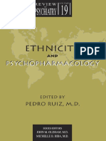 Ruiz Pedro-Ethnicity and Psychopharmacology