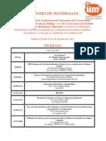 Programa Simposio de Aniversario Final Junio 2017
