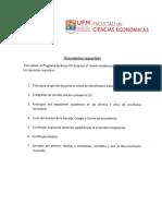 Informe Familiar y Económico ITA