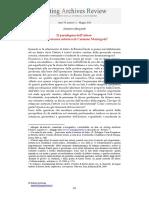 Il Paradigma Dell'Attore - drammaturgia Salvatore Margiotta