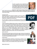 20 Autores de Guatemala