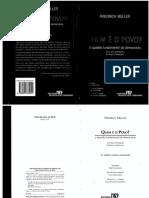 Quem é o Povo - Friedrich Muller 4ª Edição