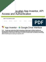 App Inventor Tutorials and Examples_ Google Drive Interface _ Pura Vida Apps