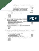 Cash, Receivables, Inventory Remedial Quiz