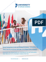 Whitepaper HZ Dutch Education System