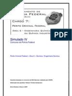 Simulado IV - Perito Criminal Federal - Área 6