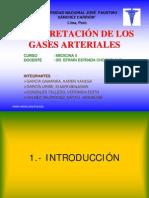 Gases Arteriales-Interpretación