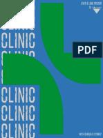 Clinic - A Multi-Sensory, Interdisciplinary Cabaret Act