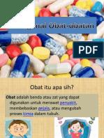Mengenal Obat-obatan