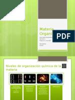 Materia Organizada (1)