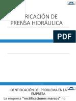 Fabricacion de Prensa Hidraulica