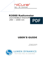 OmniCure R2000 UserGuide English