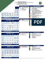 Calendário 2017.2 Em A4