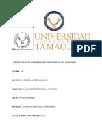 Formacion Profesional de La Ingenieria