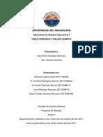 Informe Tabla Periodica y Enlaces Quimicos