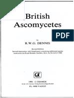 1981 BritishAscomycetesSupplement Dennis